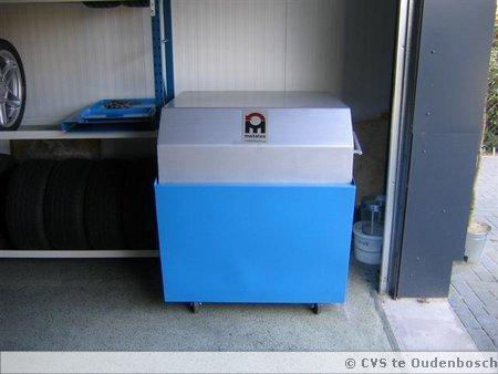 Onze motorwasmachine