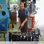 Het honen van een M3 motor