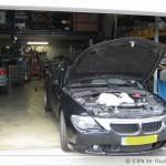 Onderhoud aan BMW E63
