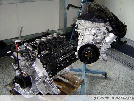 Diverse motoren na revisie