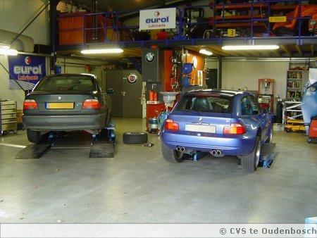 Diverse BMW's in onderhoud