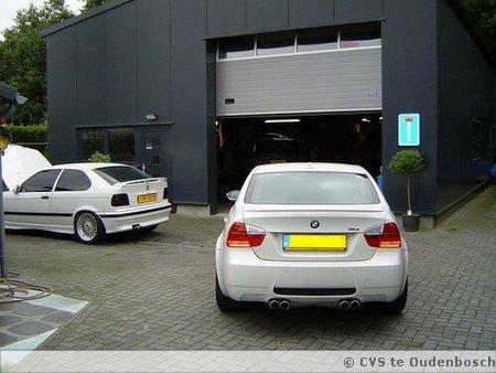 Diverse BMW's in onderhoud bij CVS
