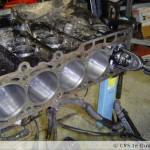 Honen van een M3 motor